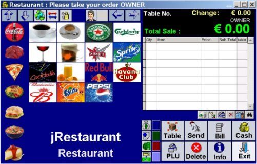 jRestaurant POS (Point Of Sale) Computer System
